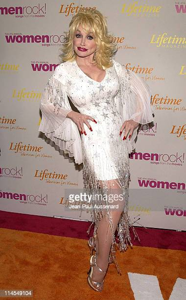 Dolly Parton during The 4th Annual Women Rock Songs From The Movies Arrivals at Kodak Theater in Hollywood California United States
