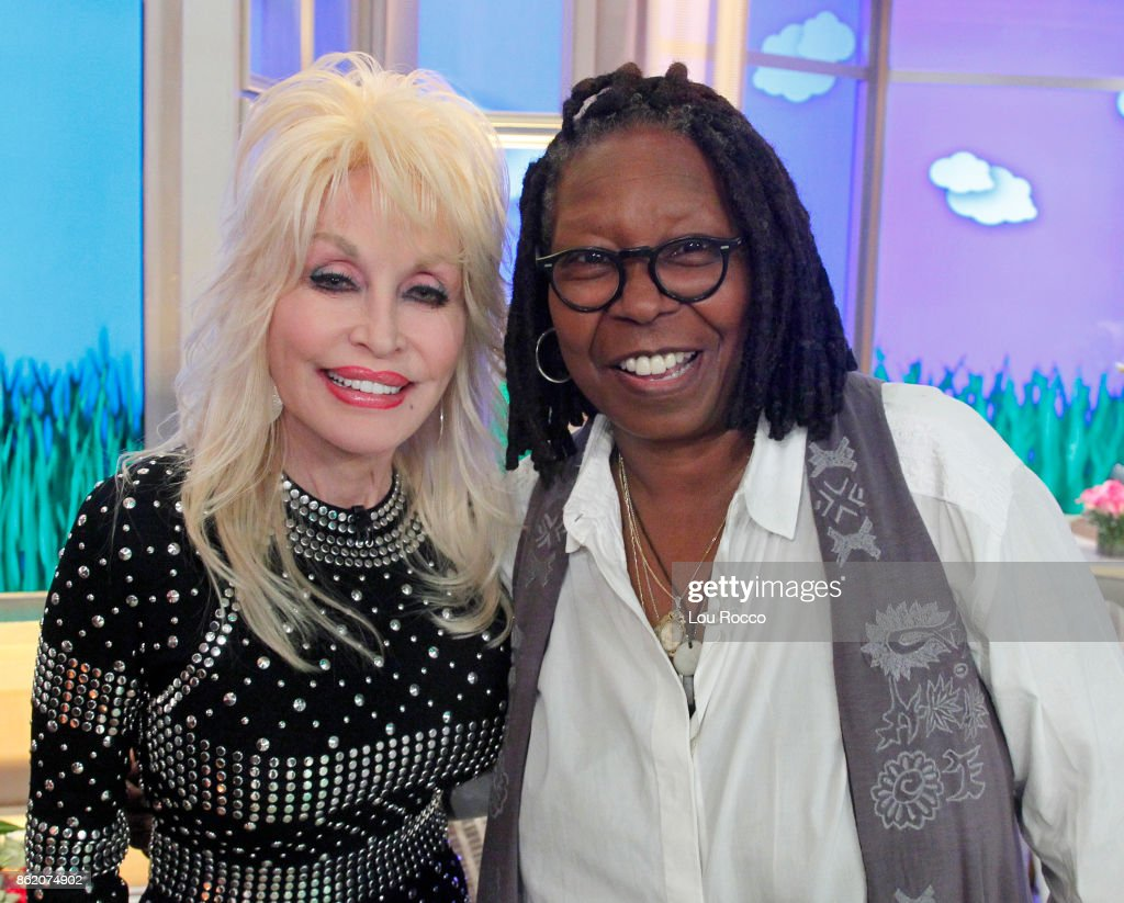 THE VIEW - Dolly Parton is the guest today Monday, October 16, 2016 on ABC's 'The View.' 'The View' airs Monday-Friday (11:00 am-12:00 pm, ET) on the ABC Television Network. GOLDBERG