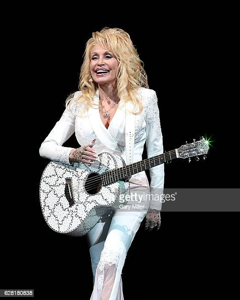 Dolly Parton performs in concert at The Frank Erwin Center on December 6 2016 in Austin Texas