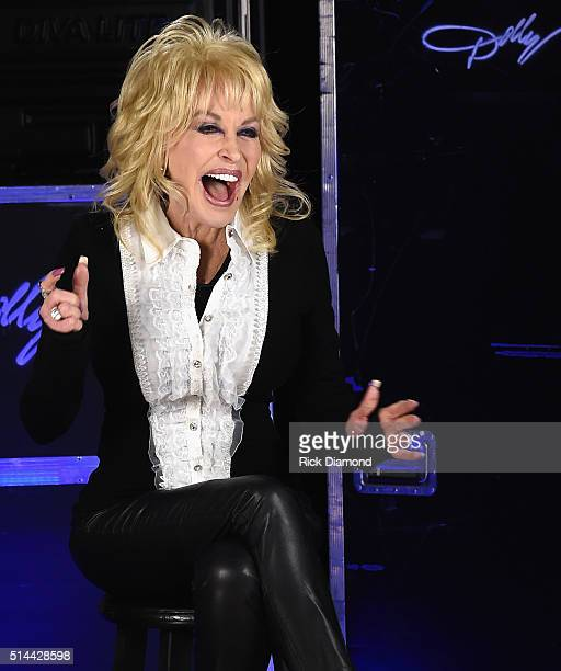 Dolly Parton press day Dolly talking about her 2016 North American tour Dolly's largest tour in 25 years Performing in over 60 cities also her New...