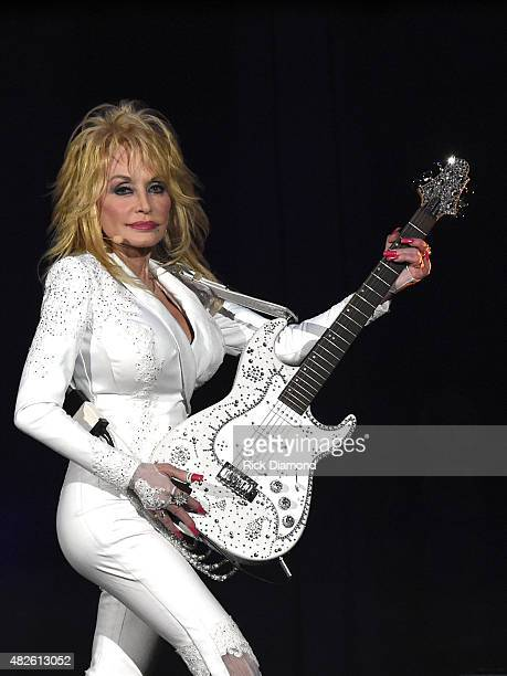 Dolly Parton Pure Simple 7th Annual Gift Of Music Night one of two sold out shows at The Ryman Auditorium on July 31 2015 in Nashville Tennessee
