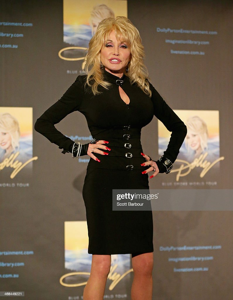<a gi-track='captionPersonalityLinkClicked' href=/galleries/search?phrase=Dolly+Parton&family=editorial&specificpeople=220238 ng-click='$event.stopPropagation()'>Dolly Parton</a> speaks to the media during a press conference at Rod Laver Arena on February 11, 2014 in Melbourne, Australia.