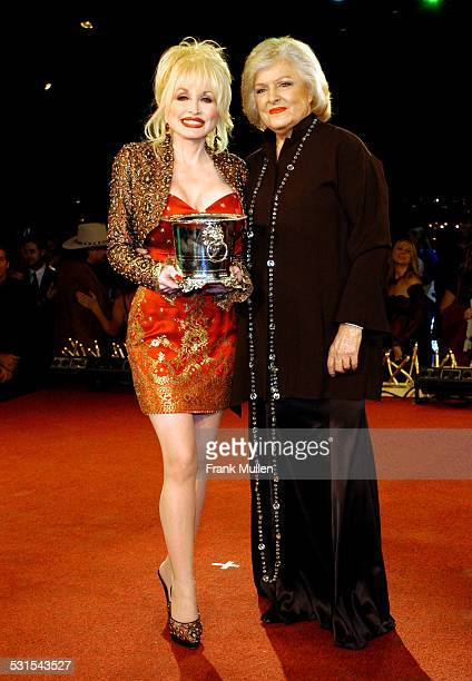 Dolly Parton with Frances Preston President and CEO of BMI