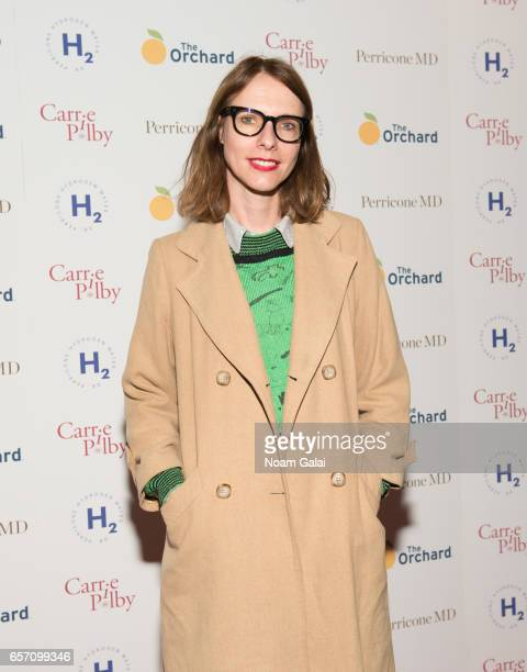 Dolly Wells attends the 'Carrie Pilby' New York screening at Landmark Sunshine Cinema on March 23 2017 in New York City