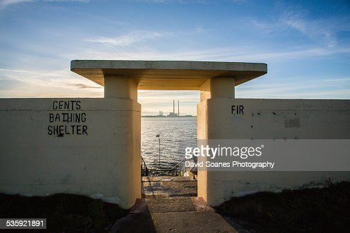 Dollymount Pier : Stock Photo