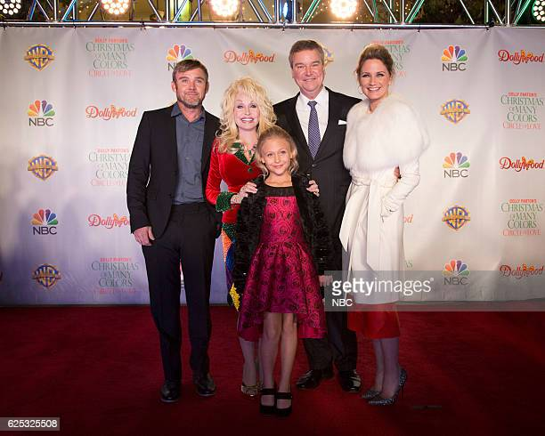 CIRCLE OF LOVE Dollywood Premiere Pictured Ricky Schroder Dolly Parton Executive Producer Alyvia Alyn Lind Sam Haskell Executive Producer Jennifer...