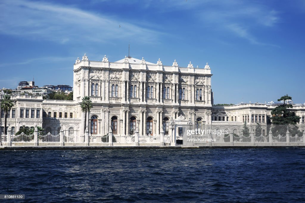Dolmabahce palace, Istanbul in Turkey : Stock Photo