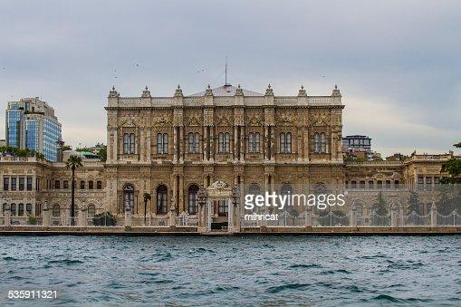 Palacio de Dolmabahce : Foto de stock