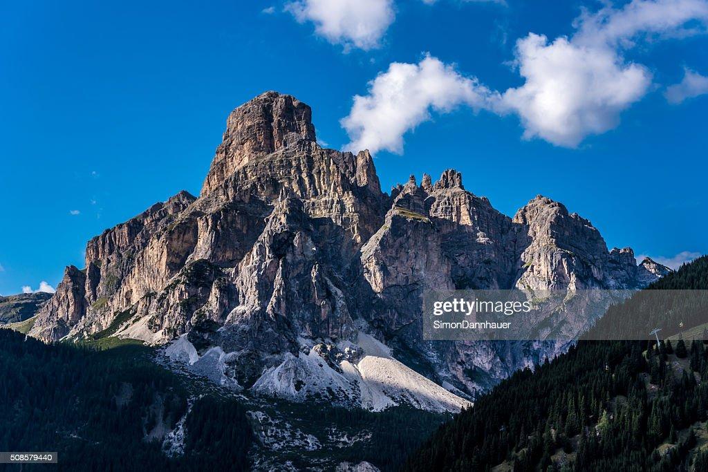 Montagnes des Dolomites, Italie, Passo Sella : Photo