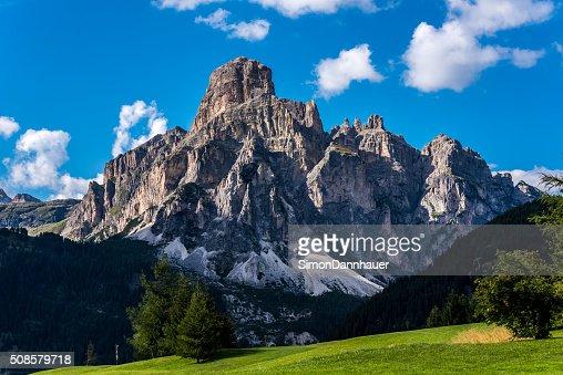 Dolomiten, Italien-Berge der Passo Sella : Stock-Foto