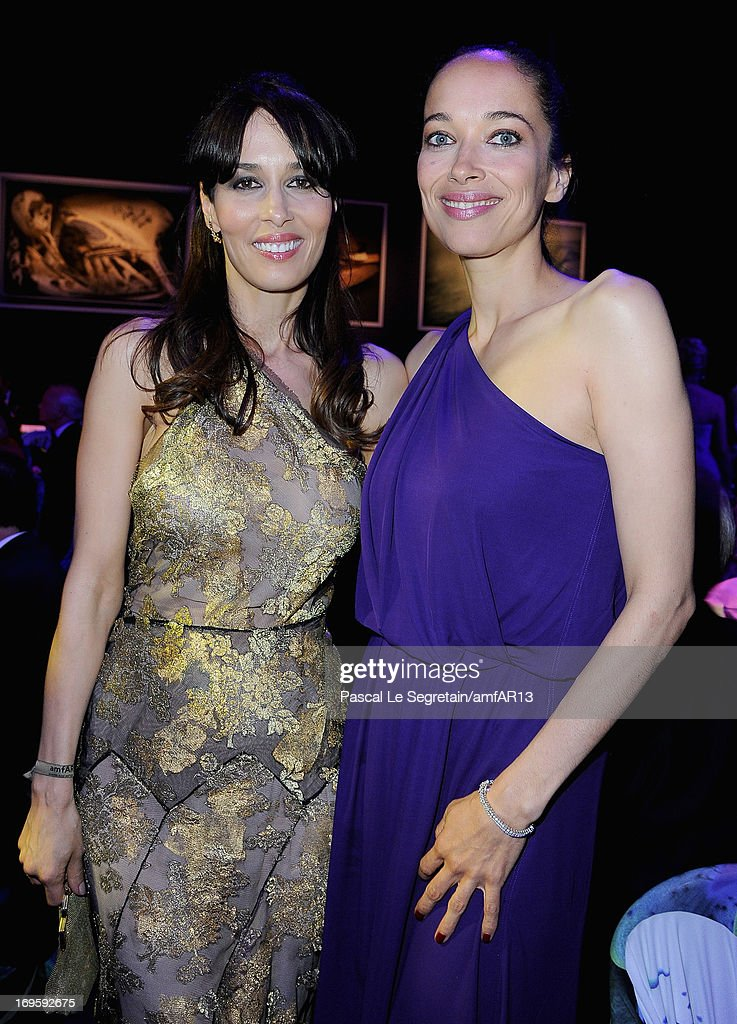 Dolores Chaplin and Carmen Chaplin attends amfAR's 20th Annual Cinema Against AIDS during The 66th Annual Cannes Film Festival at Hotel du Cap-Eden-Roc on May 23, 2013 in Cap d'Antibes, France.