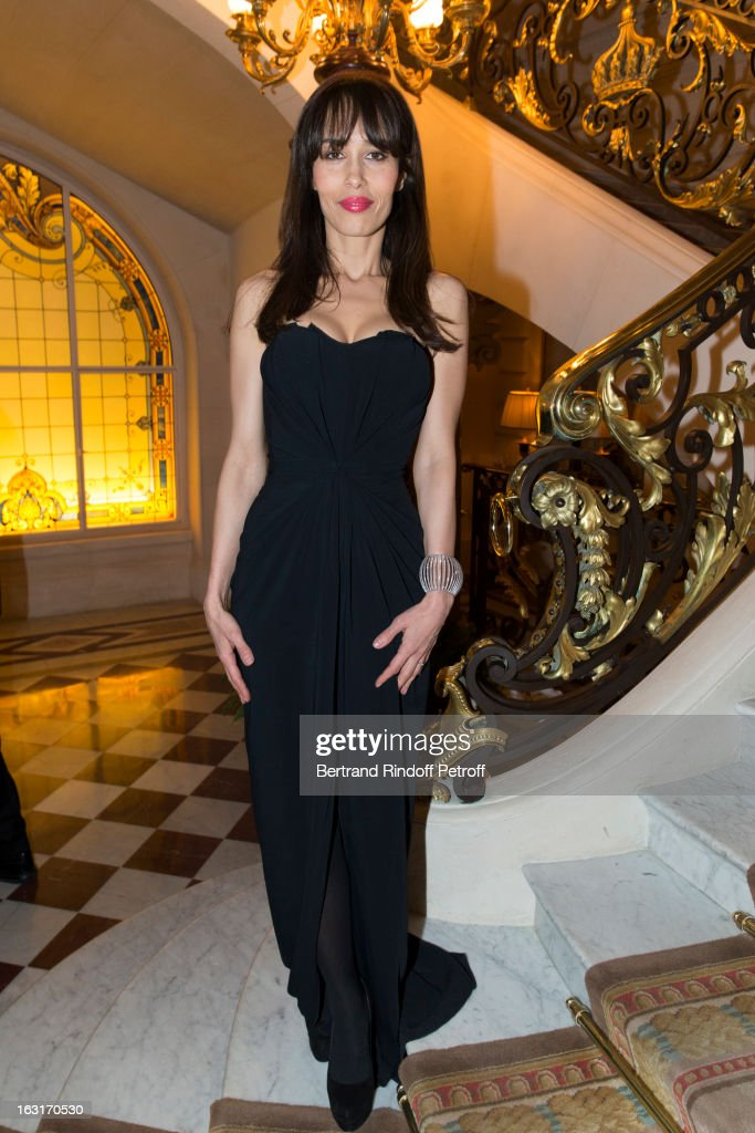 <a gi-track='captionPersonalityLinkClicked' href=/galleries/search?phrase=Dolores+Chaplin&family=editorial&specificpeople=627893 ng-click='$event.stopPropagation()'>Dolores Chaplin</a> attends the 'CR Fashion Book Issue 2' - Carine Roitfeld Cocktail as part of Paris Fashion Week at Hotel Shangri-La on March 5, 2013 in Paris, France.
