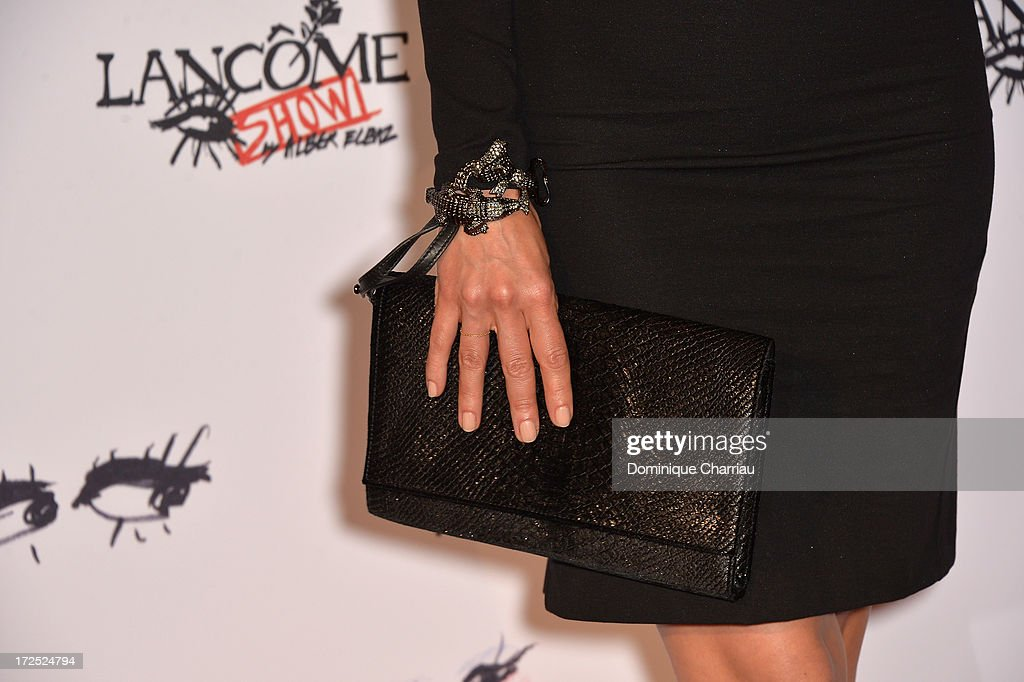 <a gi-track='captionPersonalityLinkClicked' href=/galleries/search?phrase=Dolores+Chaplin&family=editorial&specificpeople=627893 ng-click='$event.stopPropagation()'>Dolores Chaplin</a> attends the 'Lancome Show By Alber Elbaz' Party at Le Trianon on July 2, 2013 in Paris, France.