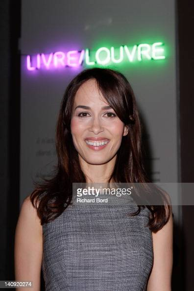 Dolores Chaplin attends the 'Livre/Louvre' Exhibition Launch at Musee du Louvre on March 7 2012 in Paris France