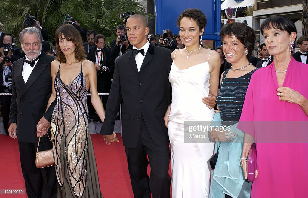 Dolores Chaplin Carmen Chaplin and Geraldine Chaplin all wearing jewelry by Chopard