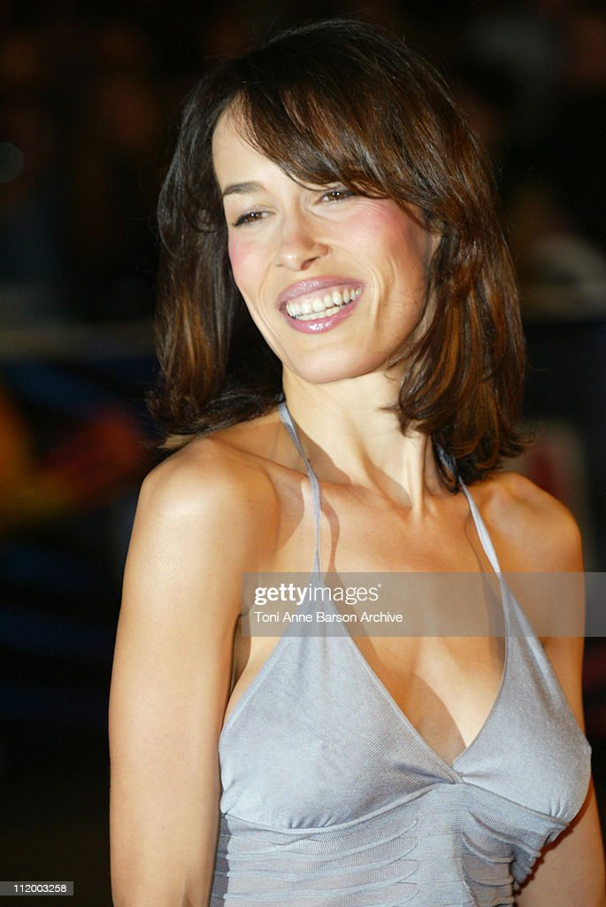 Dolores Chaplin during NRJ Music Awards 2003 Cannes Arrivals at Palais des Festivals in Cannes France