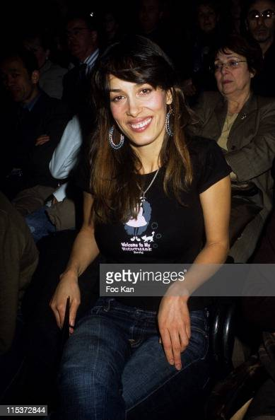 Dolores Chaplin during Paris Fashion Week Special Mohamed Dia Streetwear Show at Front Row Carrousel Du Louvre in Paris France