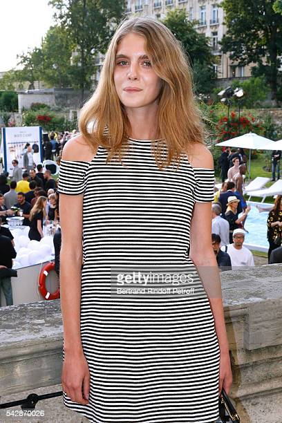 Dolores Doll attends the Berluti Menswear Spring/Summer 2017 show as part of Paris Fashion Week on June 24 2016 in Paris France