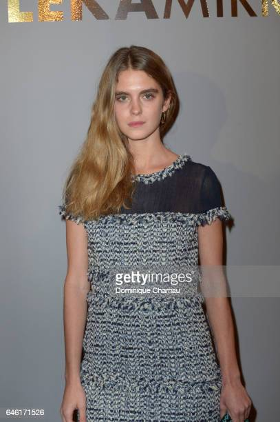 Dolores Doll attends the Paule Ka Presentation as part of the Paris Fashion Week Womenswear Fall/Winter 2017/2018 at Hotel Intercontinental on...