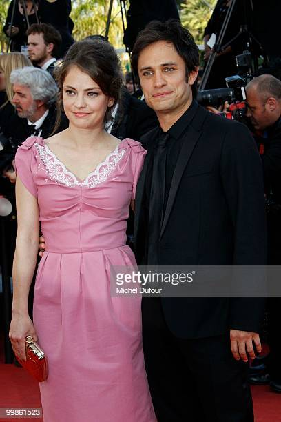 Dolores Fonzi and Gael Garcia Bernal attend 'Biutiful' Premiere at the Palais des Festivals during the 63rd Annual Cannes Film Festival on May 17...