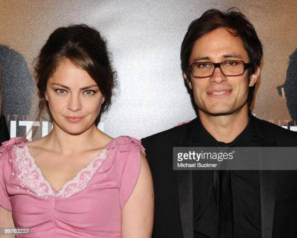 Dolores Fonzi and Gael Garcia Bernal attend the Biutiful Party at the Majestic Beach during the 63rd Annual Cannes Film Festival on May 17 2010 in...