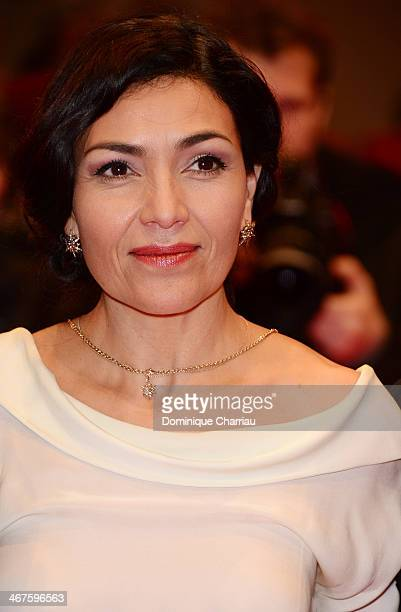 Dolores Heredia attends the 'Two Men in Town' photocall during 64th Berlinale International Film Festival at Grand Hyatt Hotel on February 7 2014 in...