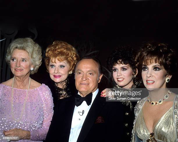 Dolores Hope US singer Lucille Ball US comedian Bob Hope Britishborn US comedian Marie Osmond US Country music singer and Gina Lollobrigida Italian...