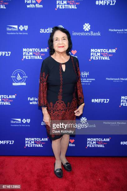 Dolores Huerta arrives at Montclair Film Festival 2017 Opening Night on April 28 2017 in Montclair New Jersey