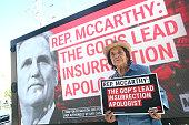 MoveOn Rally At Rep. McCarthy's Office