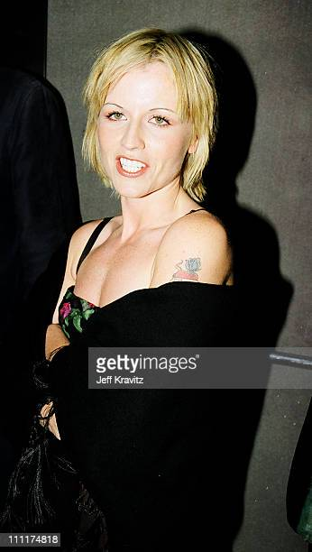 Dolores O'Riordan during 1998 MTV European Music Awards in Milan Italy