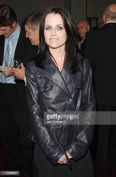 Dolores O'Riordan during 2007 Sony Radio Academy Awards Inside at Grosvenor House Hotel in London Great Britain