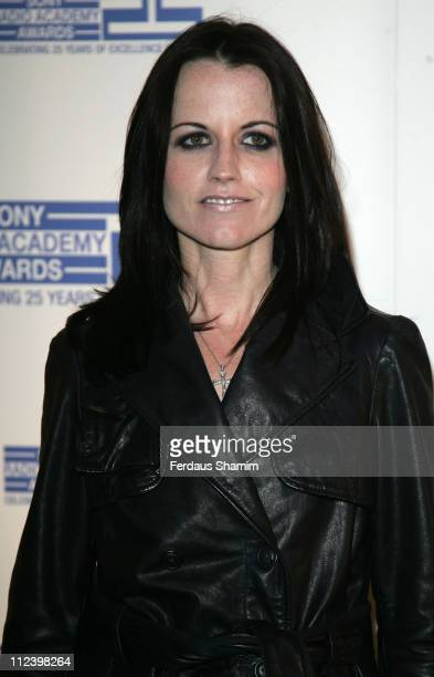 Dolores O'Riordan during Sony Radio Academy Awards 2007 Outside Arrivals at Grosvenor House Hotel in London United Kingdom