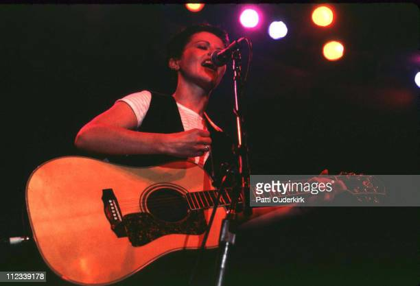 Dolores O'Riordan of Cranberries during Z100 Show at Roseland 1995 at Roseland in New York City New York United States