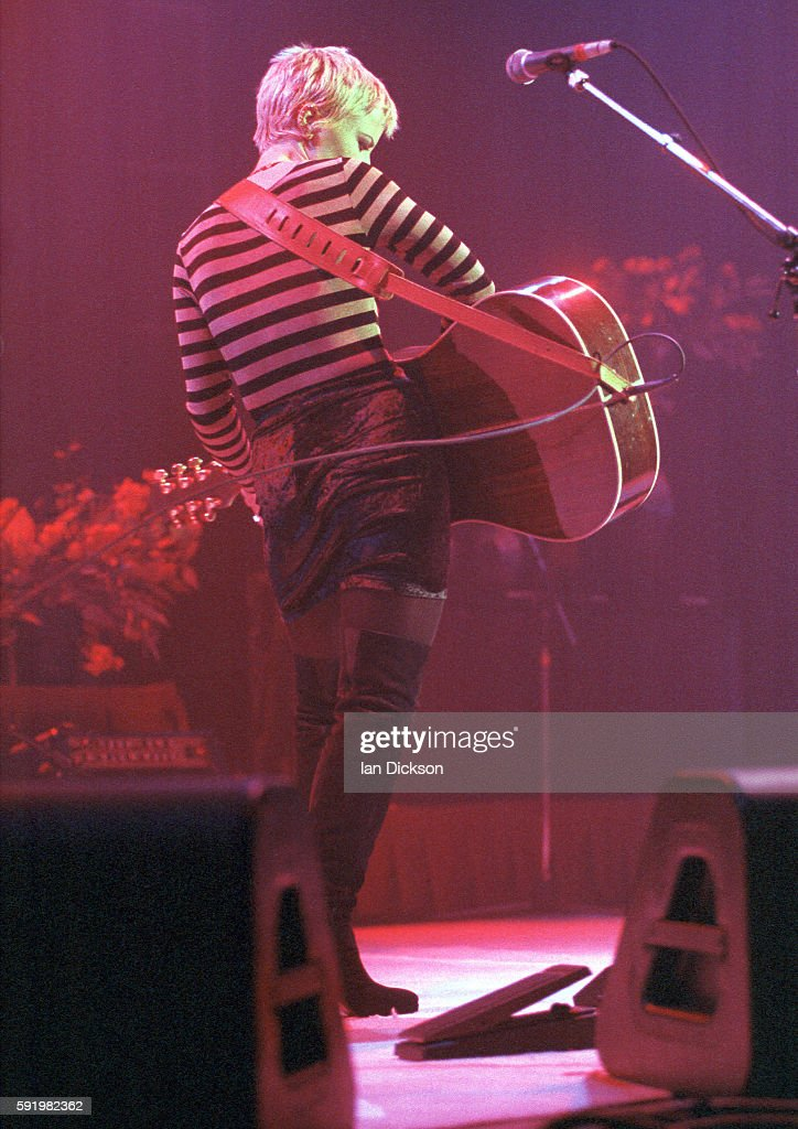 Dolores O'Riordan of The Cranberries performing on stage at Shepherds Bush Empire london 16 October 1994