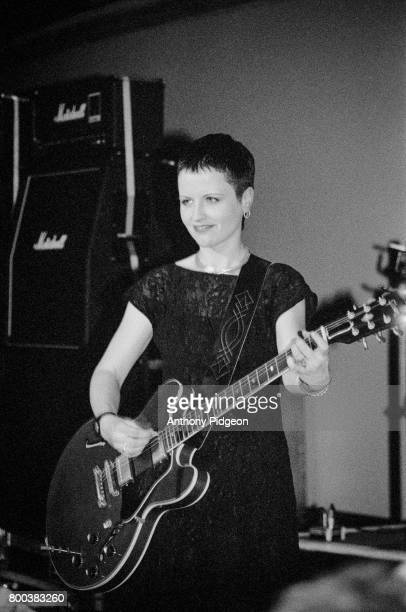 Dolores O'Riordan of The Cranberries performs onstage in San Francisco California USA in December 1993