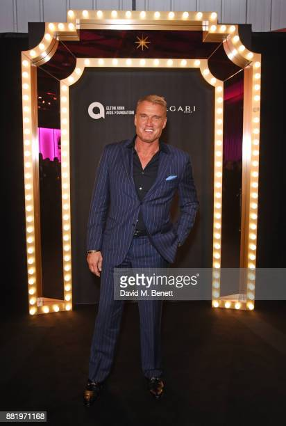 Dolph Lundgren attends CLUB LOVE for the Elton John AIDS Foundation in association with BVLGARI on November 29 2017 in London England