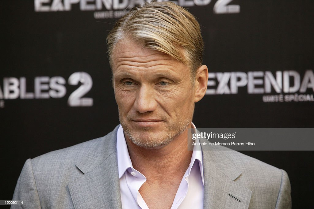 <a gi-track='captionPersonalityLinkClicked' href=/galleries/search?phrase=Dolph+Lundgren&family=editorial&specificpeople=216371 ng-click='$event.stopPropagation()'>Dolph Lundgren</a> attends 'The Expendables 2' Photocall at Hotel George V on August 10, 2012 in Paris, France.