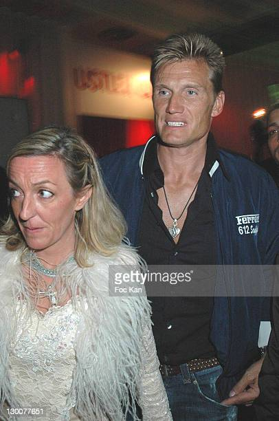 Dolph Lundgren during 2005 Cannes Film Festival Gallery Enrico Navarra Tribute To Keith Harring Party at VIP Room Cannes Palm Beach in Cannes France