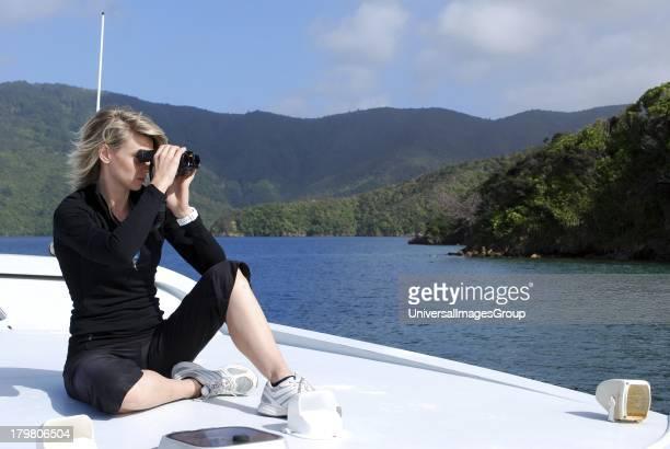 Dolphin Watch Eco tour shore excursion Picton New Zealand