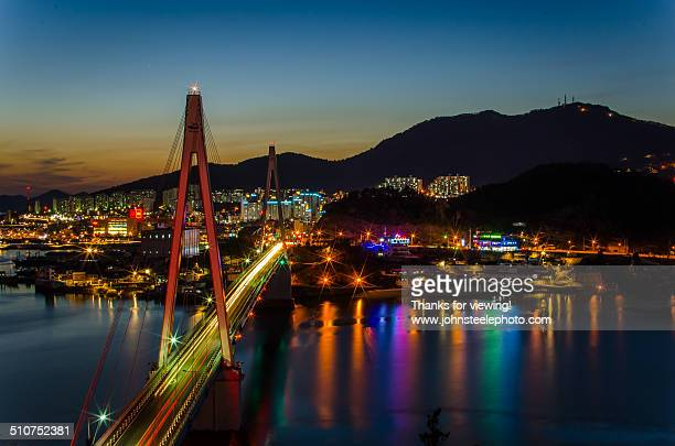 Dolsan Bridge - Yeosu, Korea