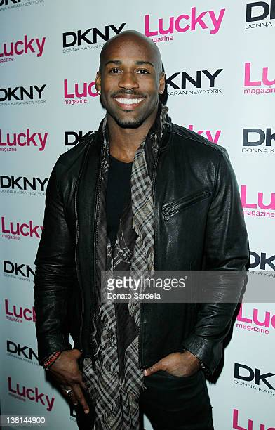 Dolvett Quince attends Lucky Magazine Celebrates Cover Star Ashley Greene at Soho House on February 2 2012 in West Hollywood California
