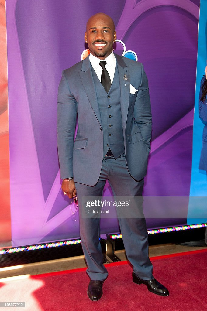 Dolvett Quince attends the 2013 NBC Upfront Presentation Red Carpet Event at Radio City Music Hall on May 13, 2013 in New York City.