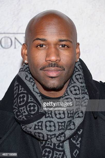 Dolvett Quince attends the HBO And Blackhouse Foundation 'Game Of Thrones' Sundance Soiree on January 18 2014 in Park City Utah