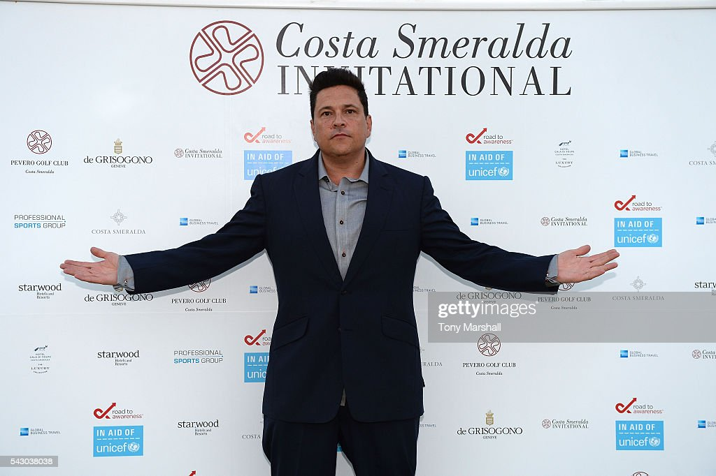 Dom Joly attends the Gala Dinner during The Costa Smeralda Invitational golf tournament at Pevero Golf Club - Costa Smeralda on June 25, 2016 in Olbia, Italy.