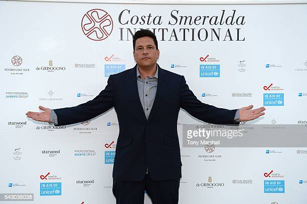 Dom Joly attends the Gala Dinner during The Costa Smeralda Invitational golf tournament at Pevero Golf Club Costa Smeralda on June 25 2016 in Olbia...