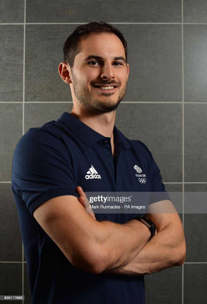 Dom Parsons during the PyeongChang 2018 Olympic Winter Games photocall at Heriot Watt University, Oriam.
