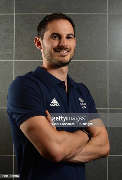 Dom Parsons during the PyeongChang 2018 Olympic Winter Games photocall at Heriot Watt University Oriam