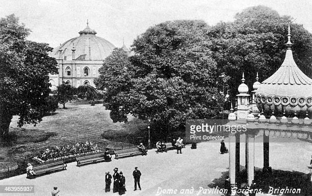 Dome and Pavilion Gardens Brighton early 20th century Postcard from Valentine's Series The Brighton Dome was built for the Prince of Wales who...