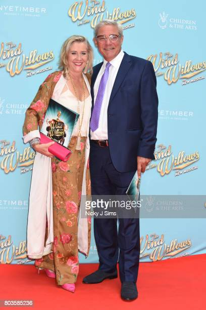 Dome and Steph Parker attend the Gala performance of Wind In The Willows at London Palladium on June 29 2017 in London England
