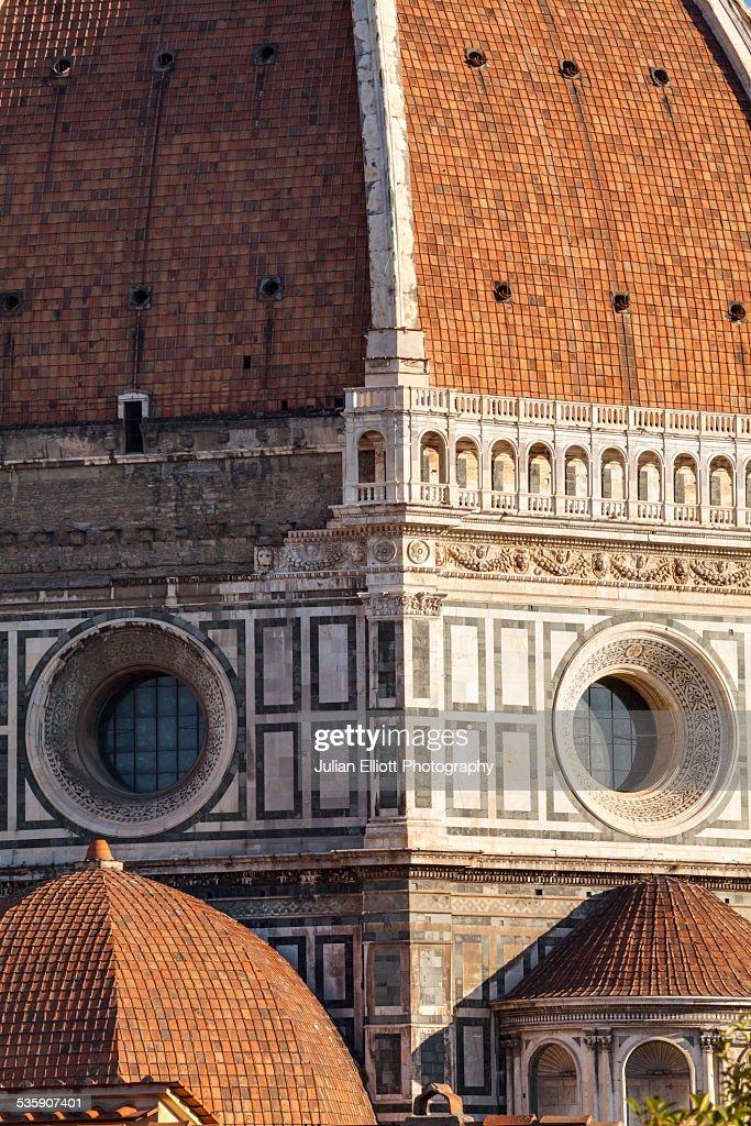Dome of Basilica di Santa Maria del Fiore : Stock Photo